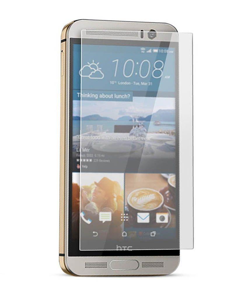 HTC One M9+ Tempered Glass Screen Guard by PraIQ