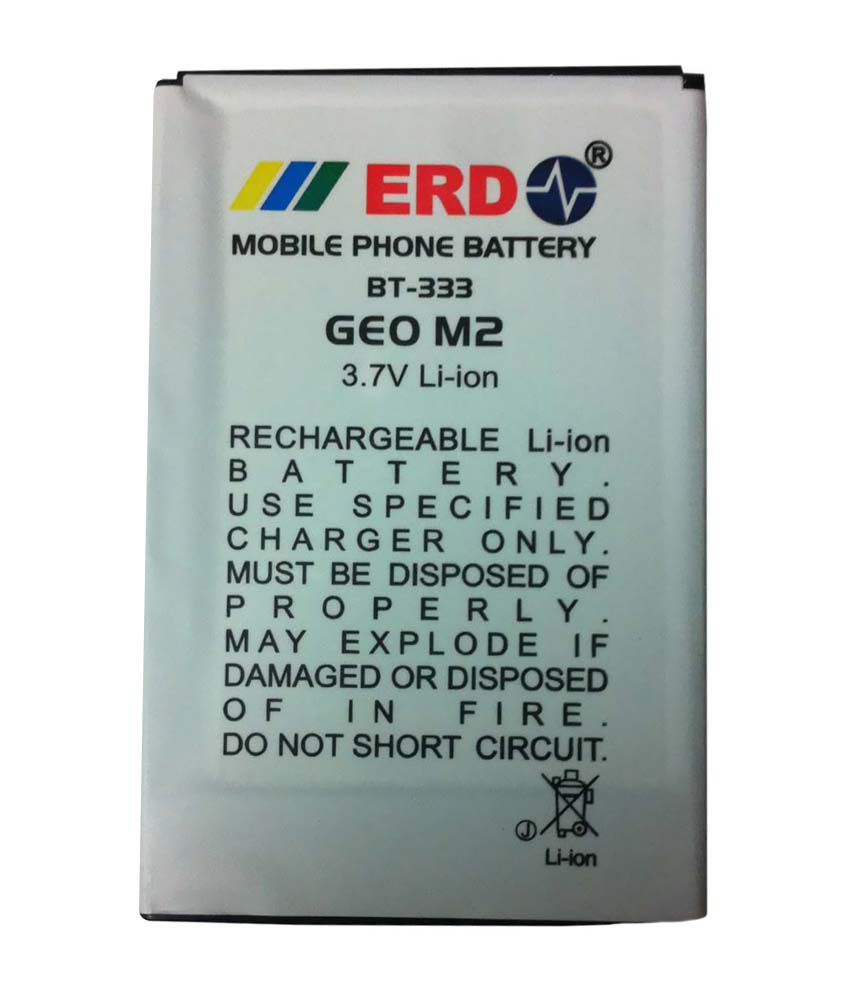 Erd 1500 mAh Lithium Ion Mobile Battery For Geo M2 - Batteries ...