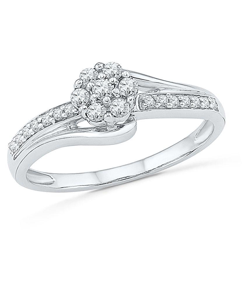 Radiant Bay 18 Carat White Gold Diamond Ring