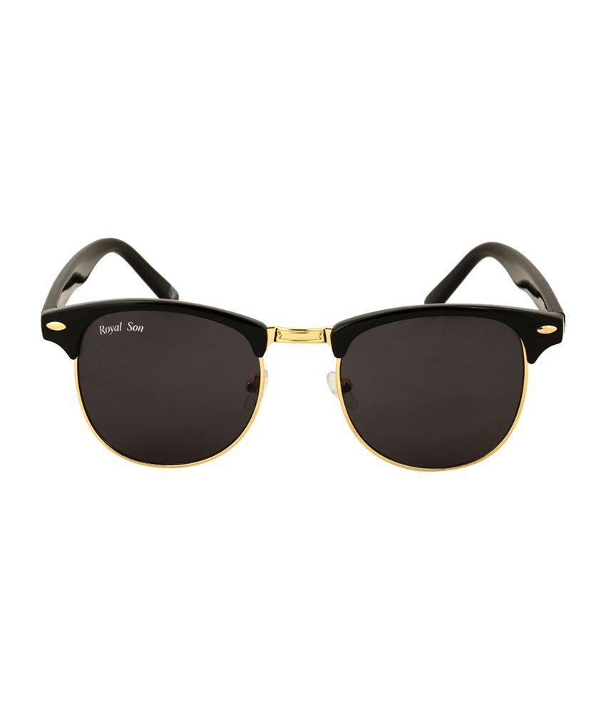 Clubmaster Sunglasses Price  royal son black uni clubmaster sunglasses rs006cm royal