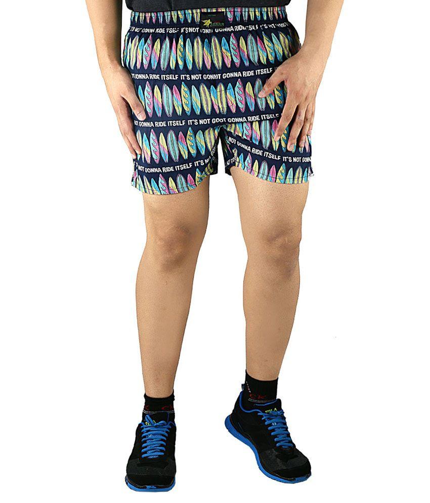 Tasho Zaara Surf Boards Printed Boxer Shorts