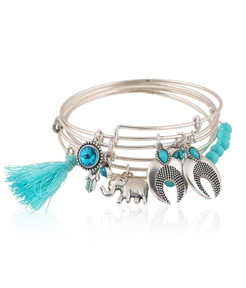 Young And Forever Silver Alloy Bracelet