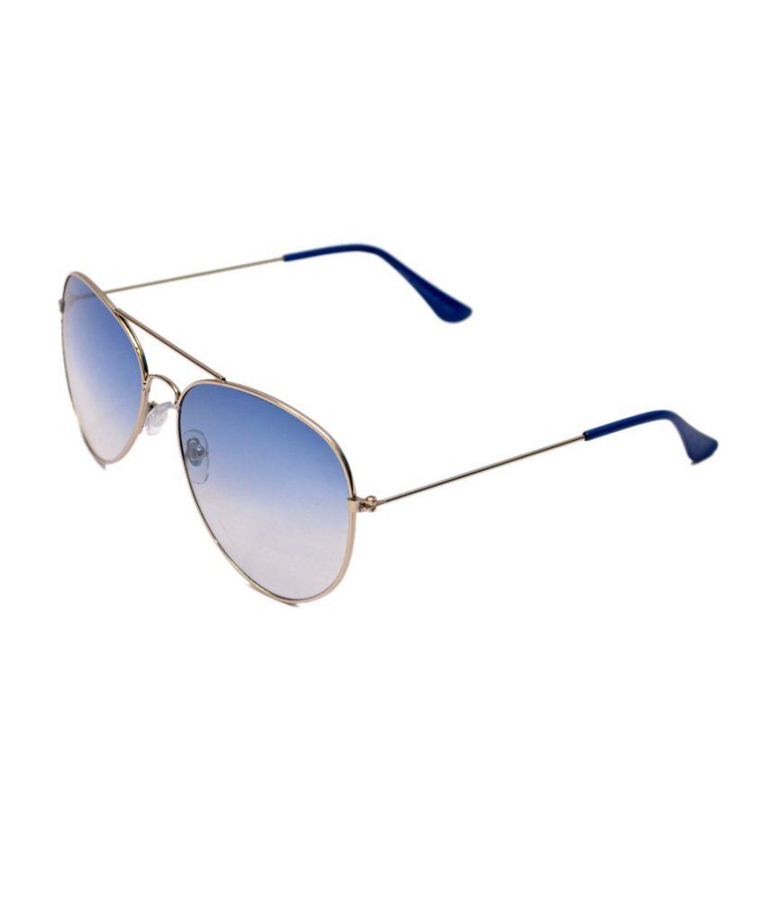 R Looks Multicolor Frame Aviator Sunglasses