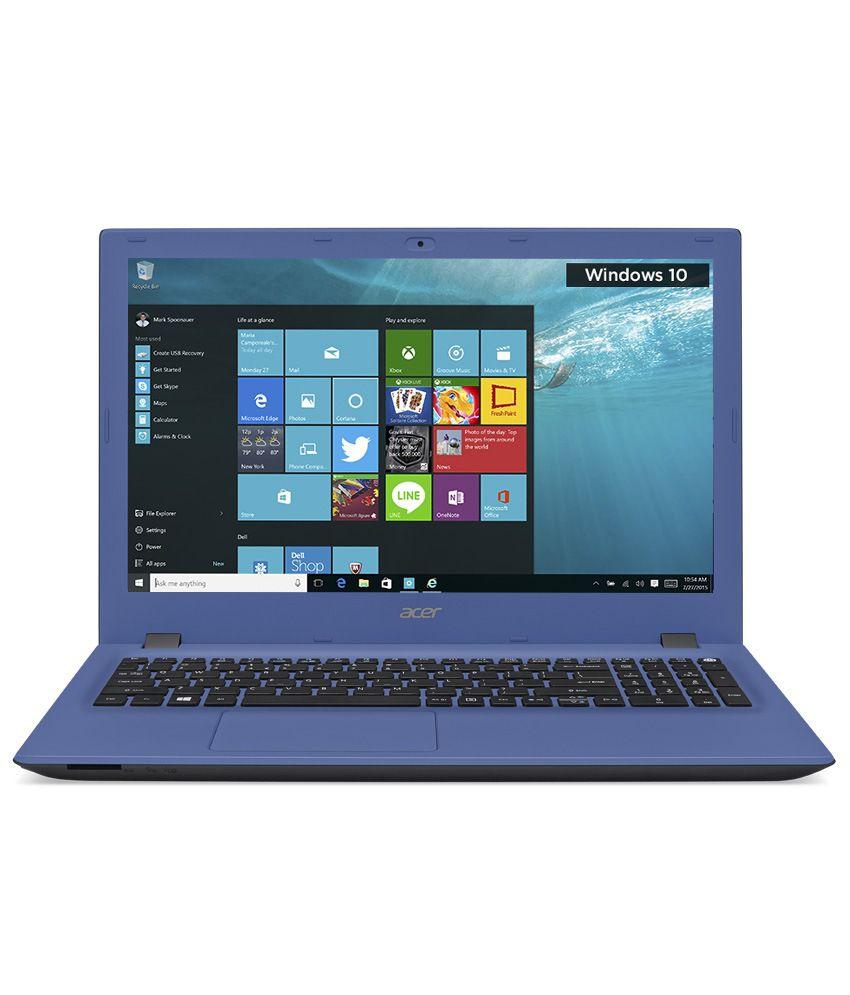 Acer Aspire E5-574G-57T1 Notebook (NX.G3DSI.001) (6th Gen Intel Core i5-6200U- 4GB RAM- 1TB HDD- 39.62 cm (15.6)- Windows 10- 2GB Graphics) (Blue)