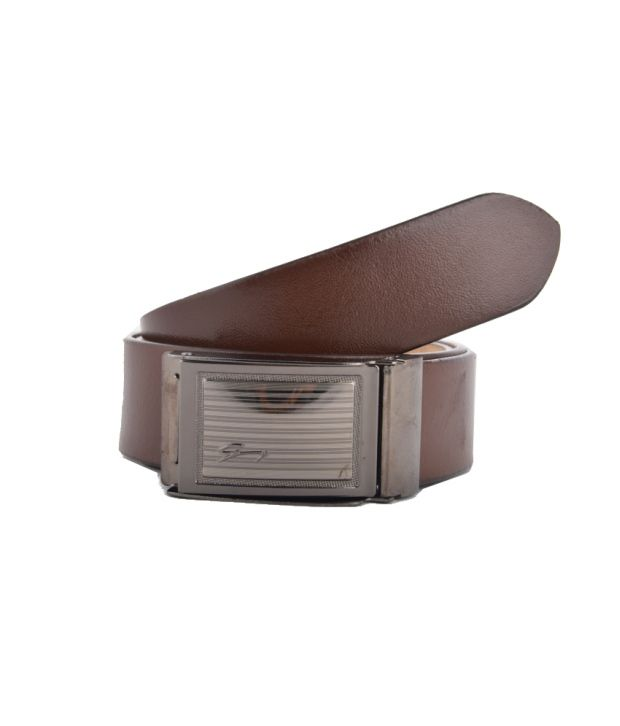 Genuine Leather Belt Brown Leather Formal Belt