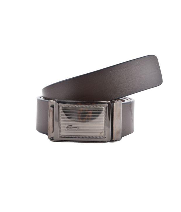 Genuine Leather Belt Brown Leather Formal Belt