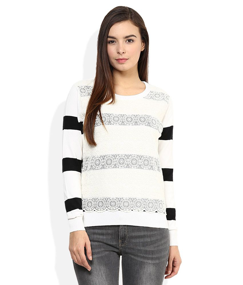 600ed256a5e Buy Madame Black Round Neck Sweater Online at Best Prices in India -  Snapdeal
