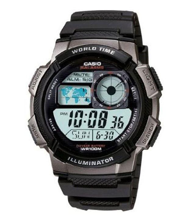 Casio Youth Digital Techie Series AE-1000W-1BVDF (D081) Men's Watch