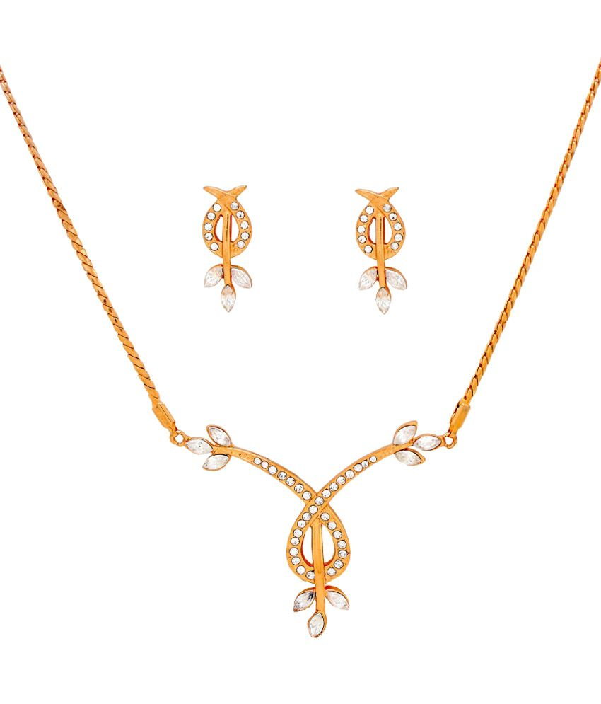 Iconic 24kt Gold Plated Necklace Set