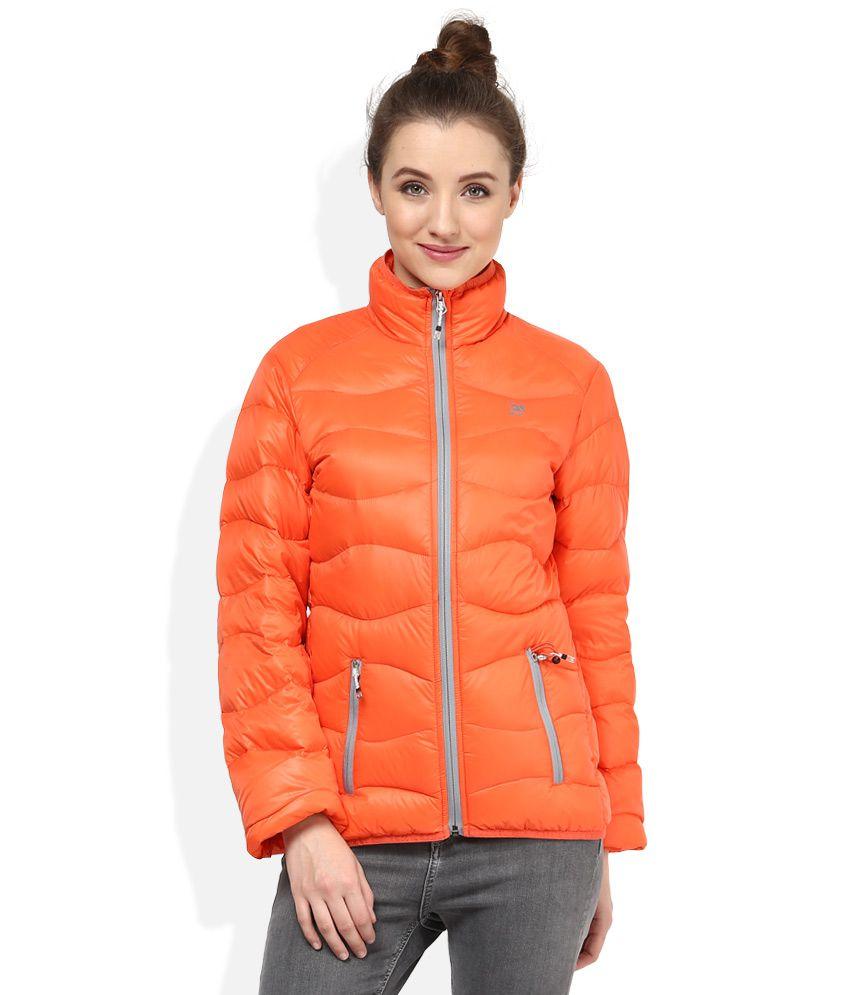 Mens jacket on flipkart - Woodland Orange Jacket Available At Snapdeal For Rs 7495