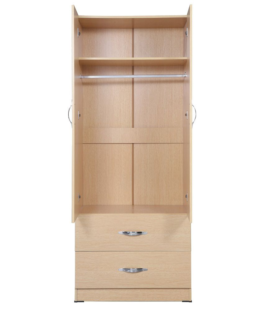 2-Door-Wardrobe-In-Natural-Finish
