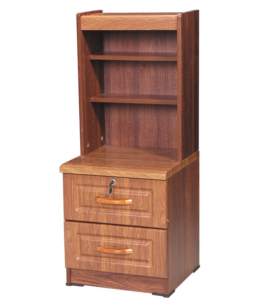 2 Drawer Bedside Table in Natural Finish
