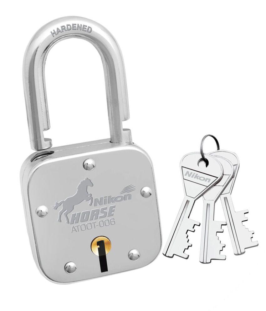 Nikon Locks Sliver Iron Lock - Pack Of 2