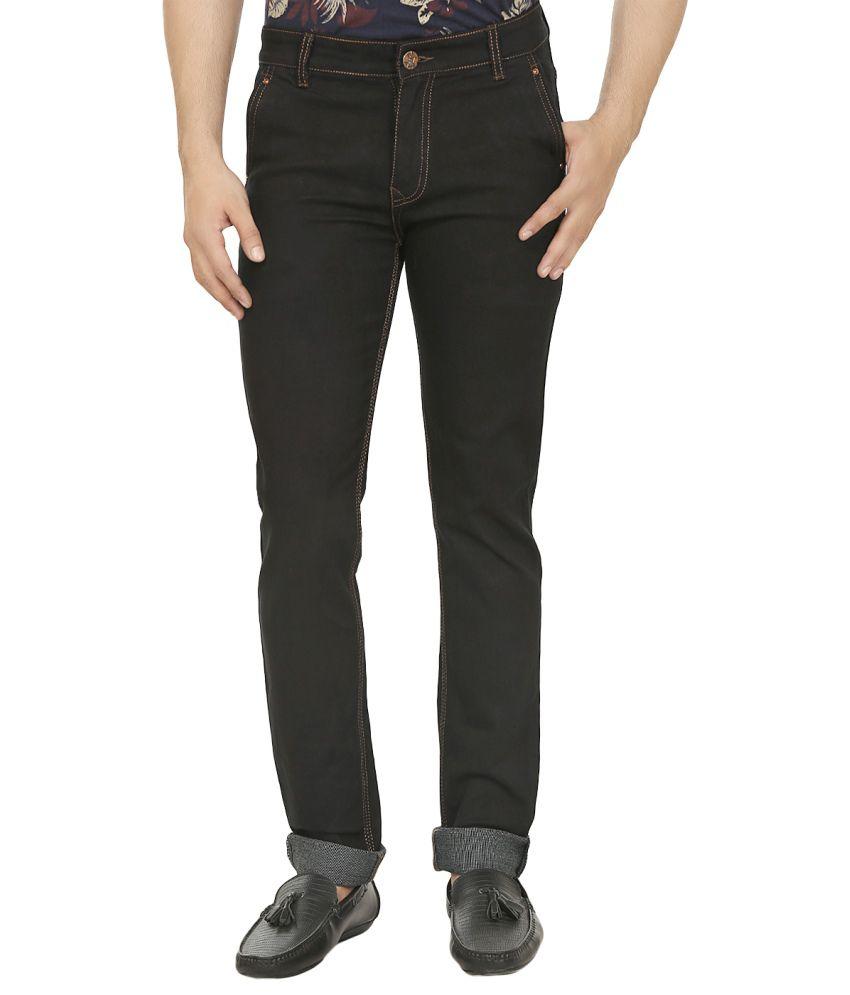 Magic Attitude Black Slim Fit Jeans