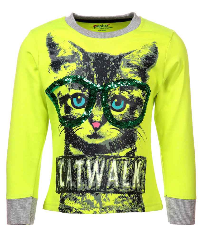 Pepito Green Sweatshirt