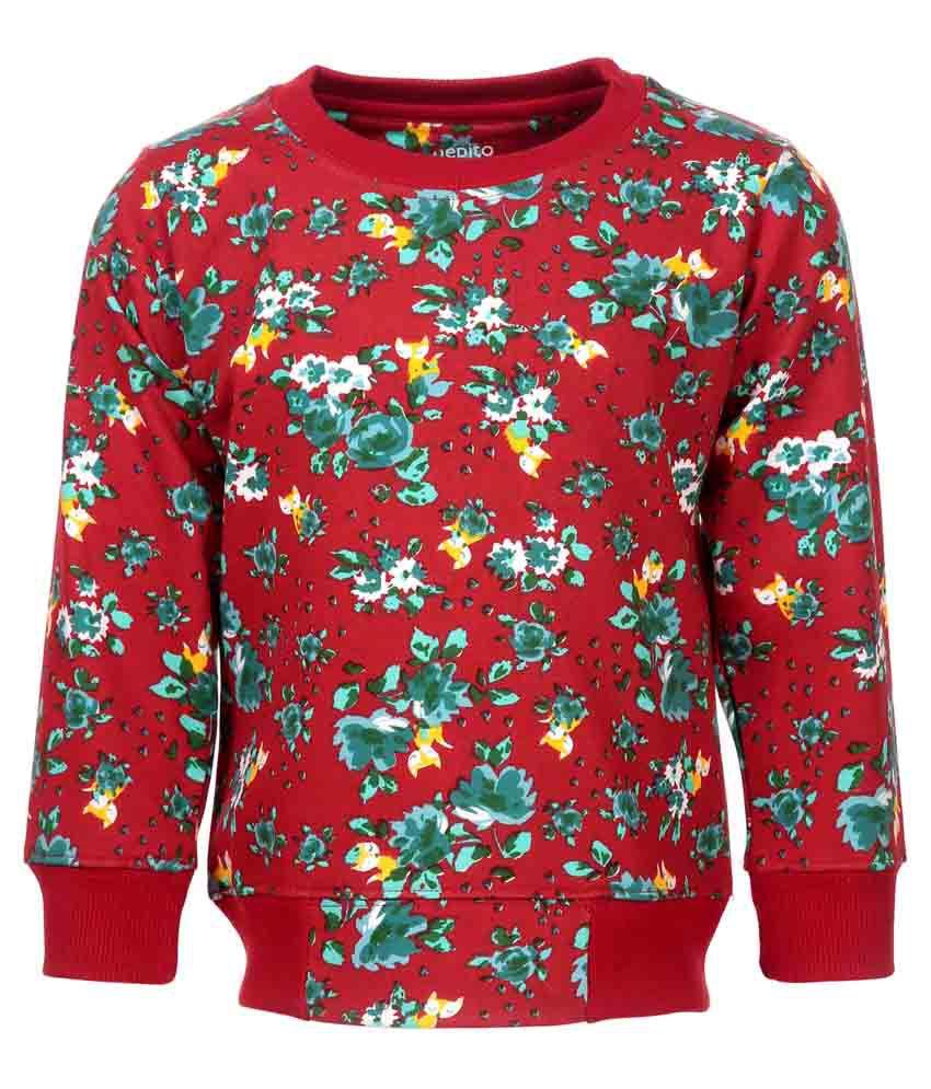 Pepito Red Sweatshirt