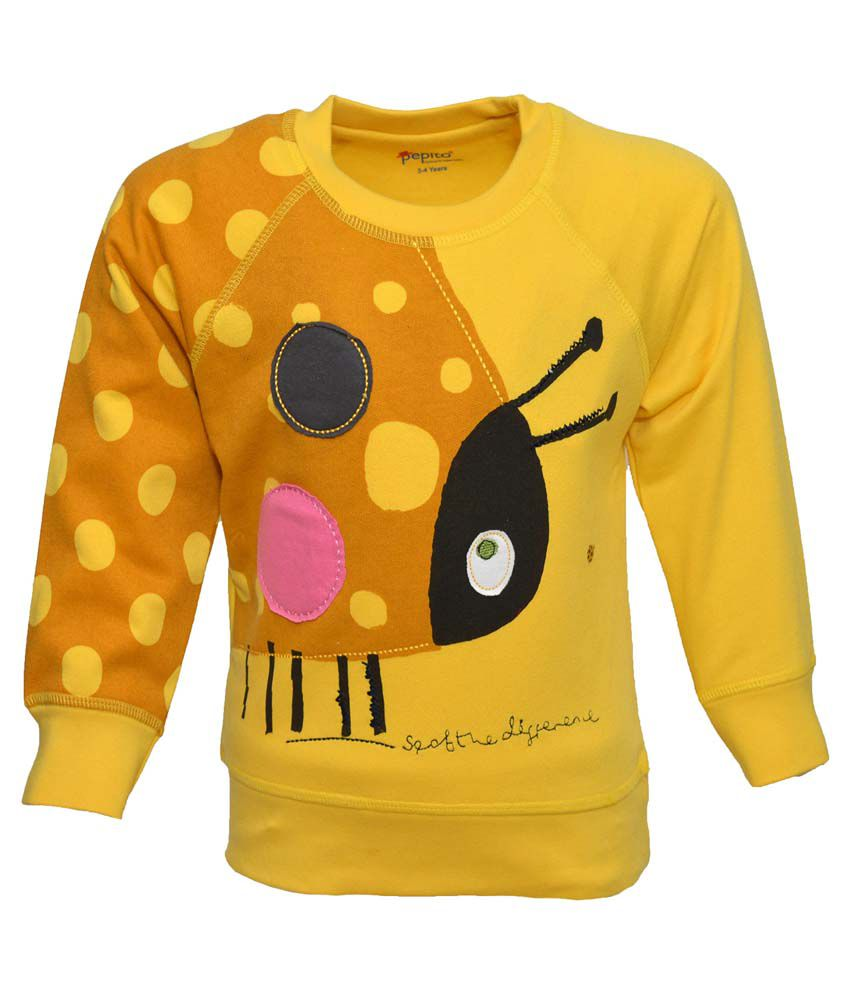 Pepito Yellow Sweatshirt