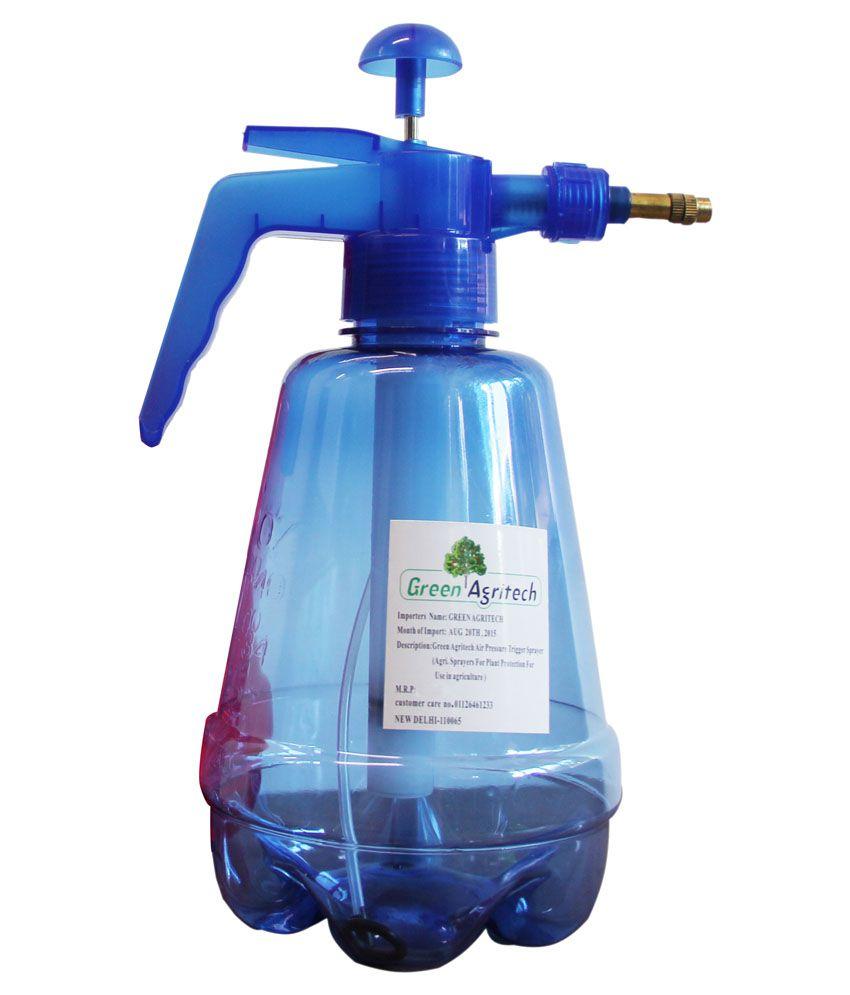Green Agritech Blue 1.2 Ltr Air Pressure Water Sprayer
