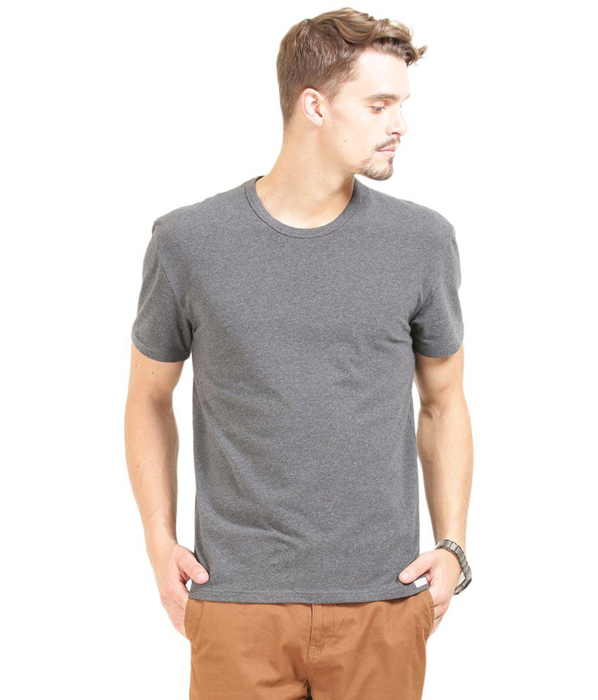 Tee Party Gray Half Sleeve T Shirt