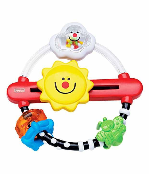 Fisher Price Fisher Price Multicolor Plastic Sun Spins