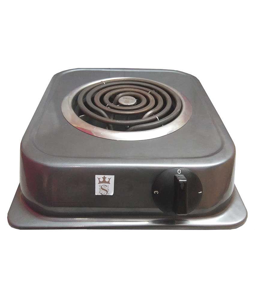 Sunsenses S.Steel G.Coil Hot Plate SHP-01 (Black)