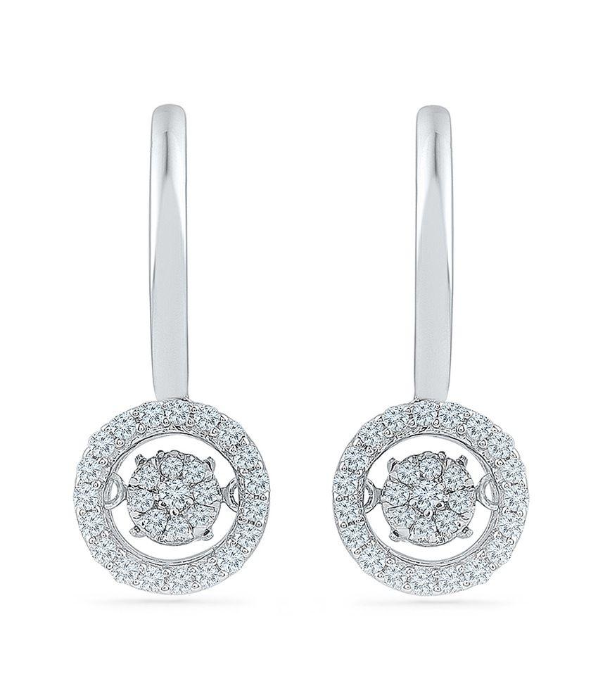 Radiant Bay 18kt Gold Diamond Drop Earrings