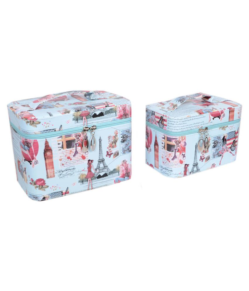 Styler Blue Vanity Box - Set of 2