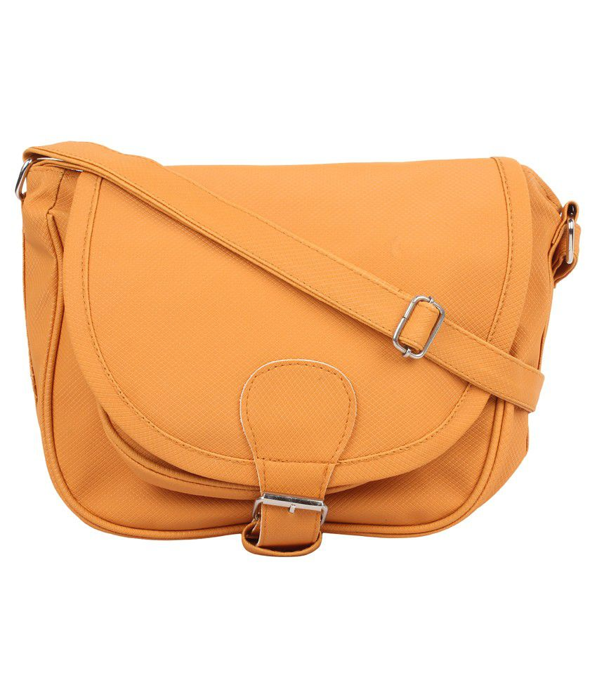 Cottage Orange Sling Bag - Buy Cottage Orange Sling Bag Online at ...