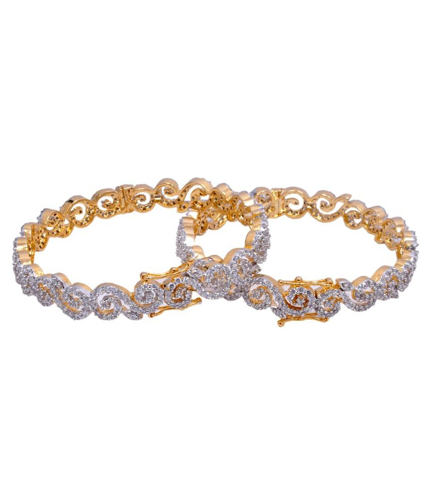 Grand Pitara Gold Plated Bangles