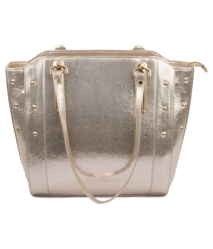 SNM Golden Shoulder Bag