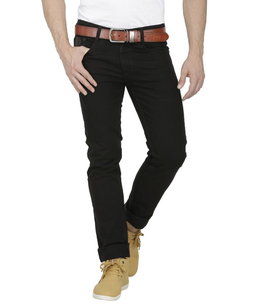 4f4f888b764 Sparky Black Slim Fit Jeans - Buy Sparky Black Slim Fit Jeans Online ...