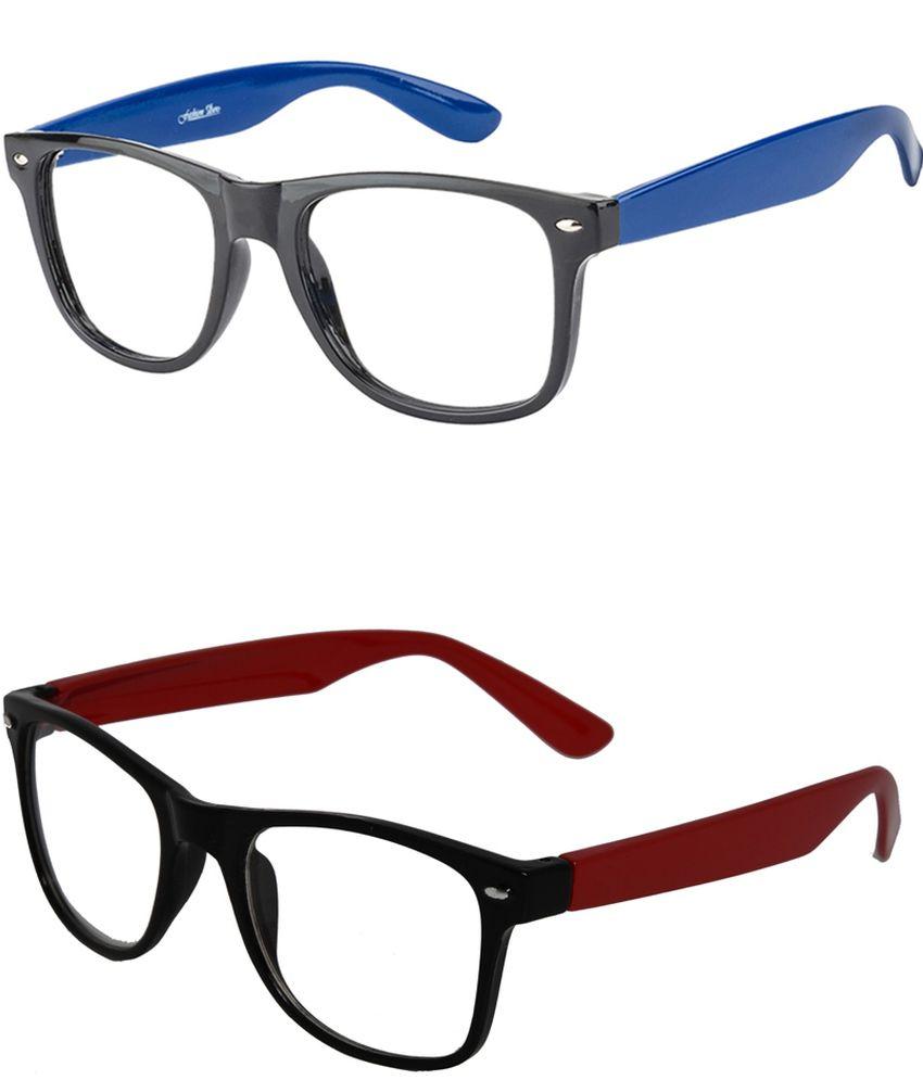 2f84f01ab61e Unique Multicolor Rectangle Frame Eyeglasses For Men   Women - Buy Unique  Multicolor Rectangle Frame Eyeglasses For Men   Women Online at Low Price -  ...