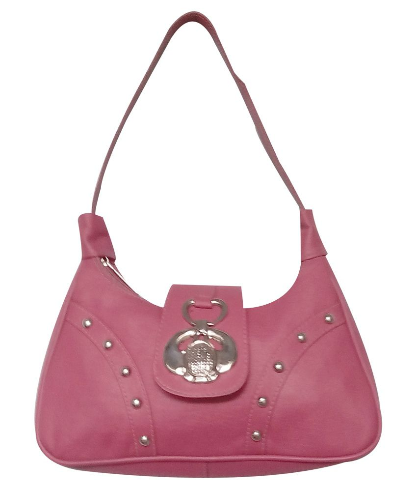 Eden Advertising Agency Pink Shoulder Bag