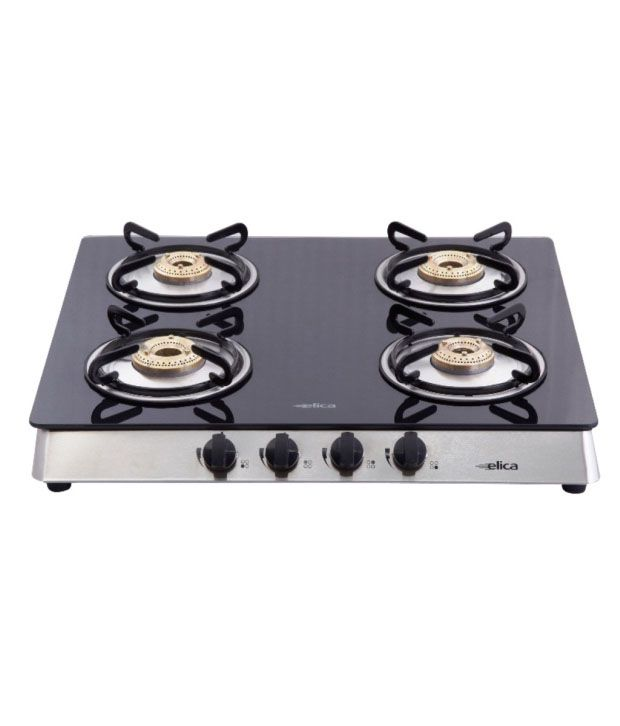 Elica-594-CT-Vetro-AI-4-Burner-Gas-Cooktop