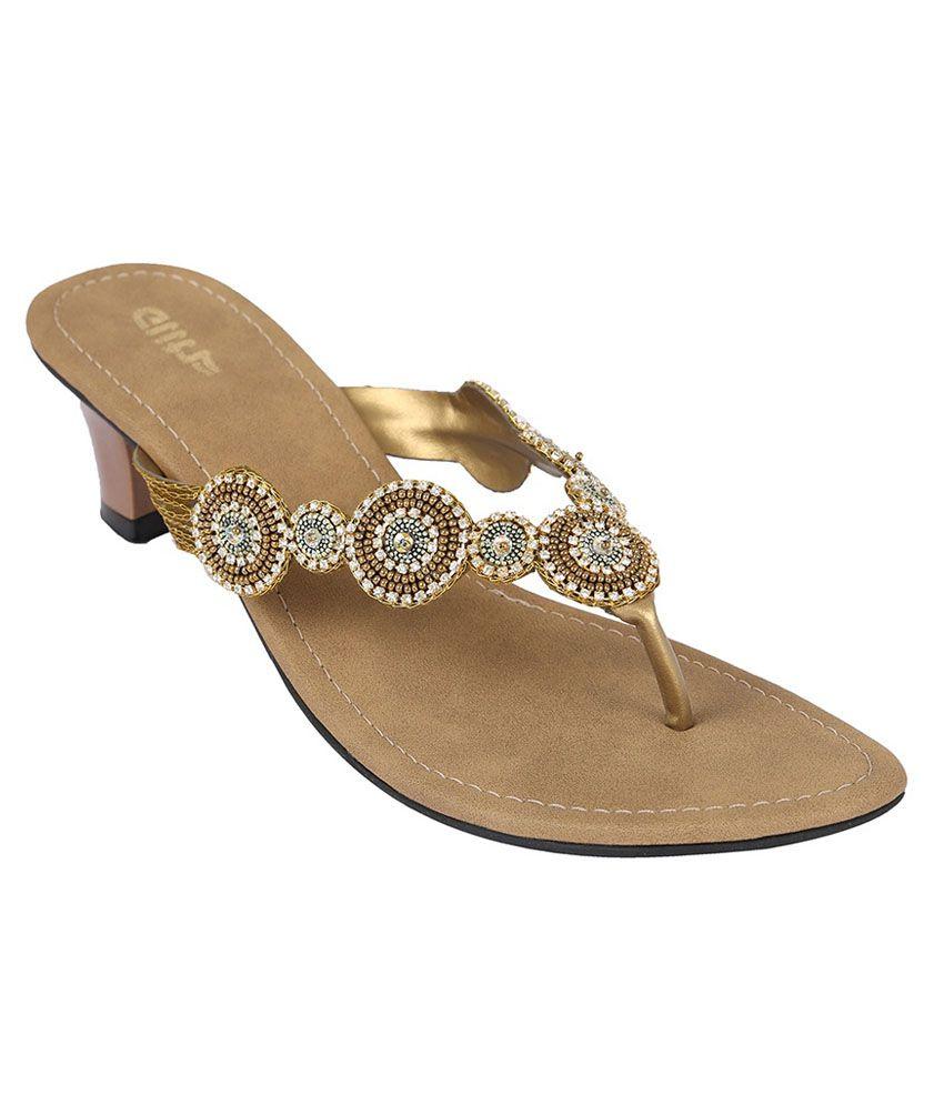 Glitz Silver Ethnic Sandals