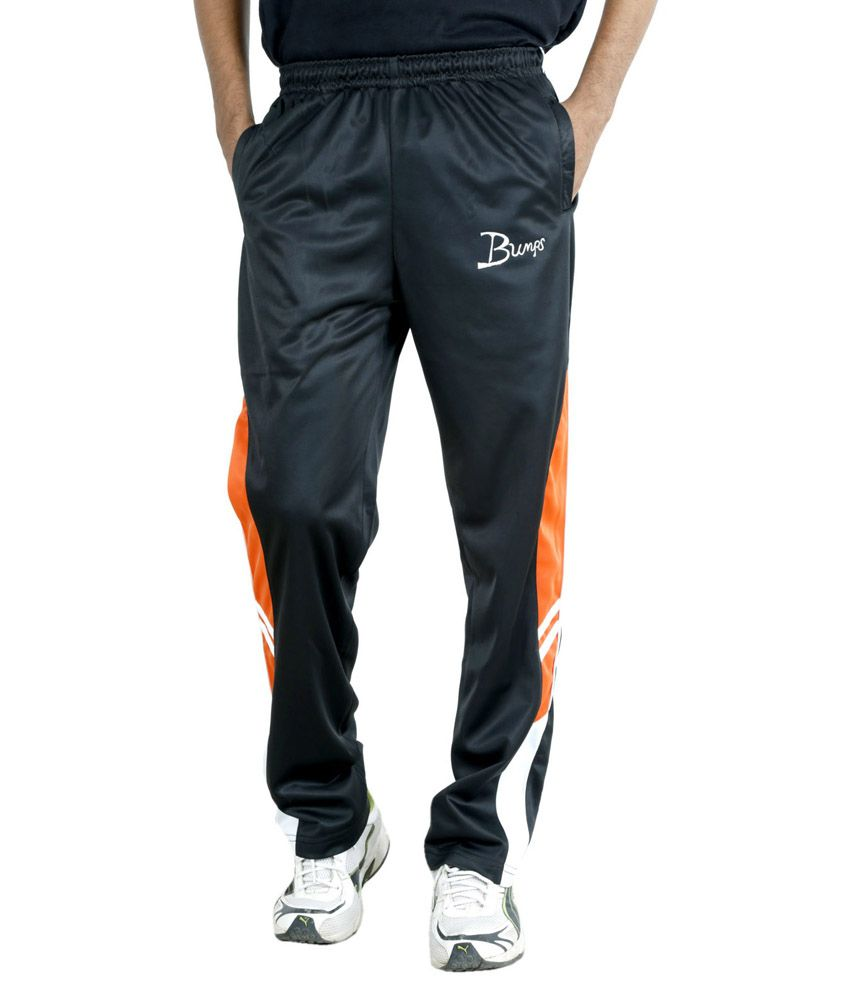 Fast Look Black Trackpant