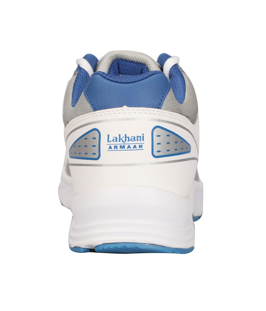 Lakhani Touch White Sports Shoes - Buy