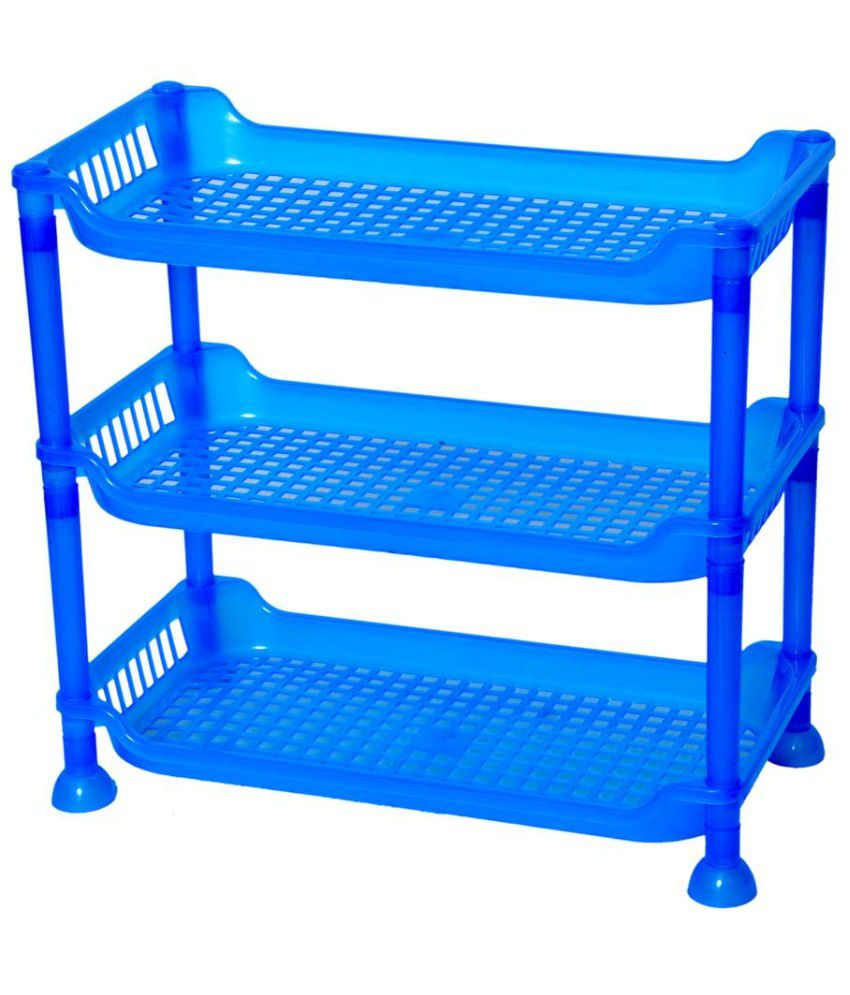 Ankur Blue Plastic Multipurpose Rack  available at snapdeal for Rs.169
