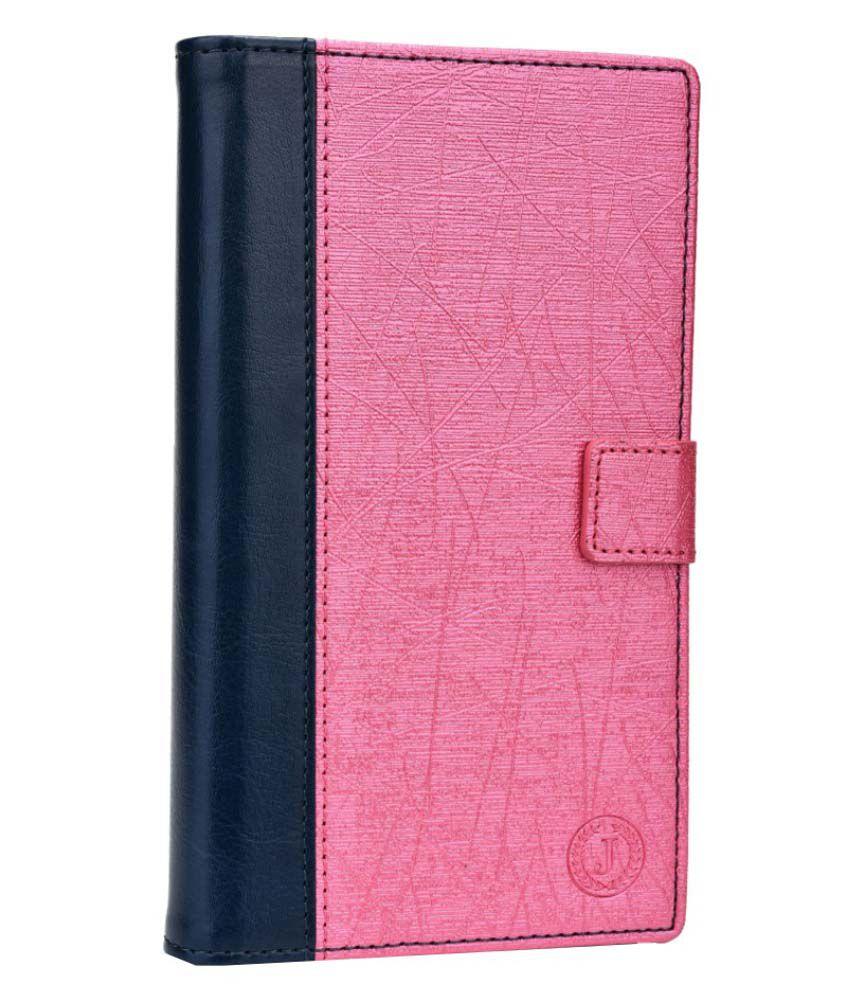 Jo Jo Leather Pouch Flip Cover Case For ZTE Axon Pro - Multicolor