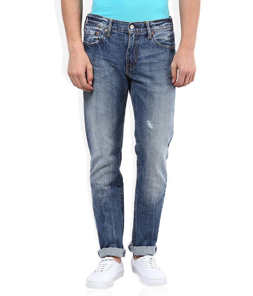 Levi's Blue Light Wash Slim Fit Jeans 511