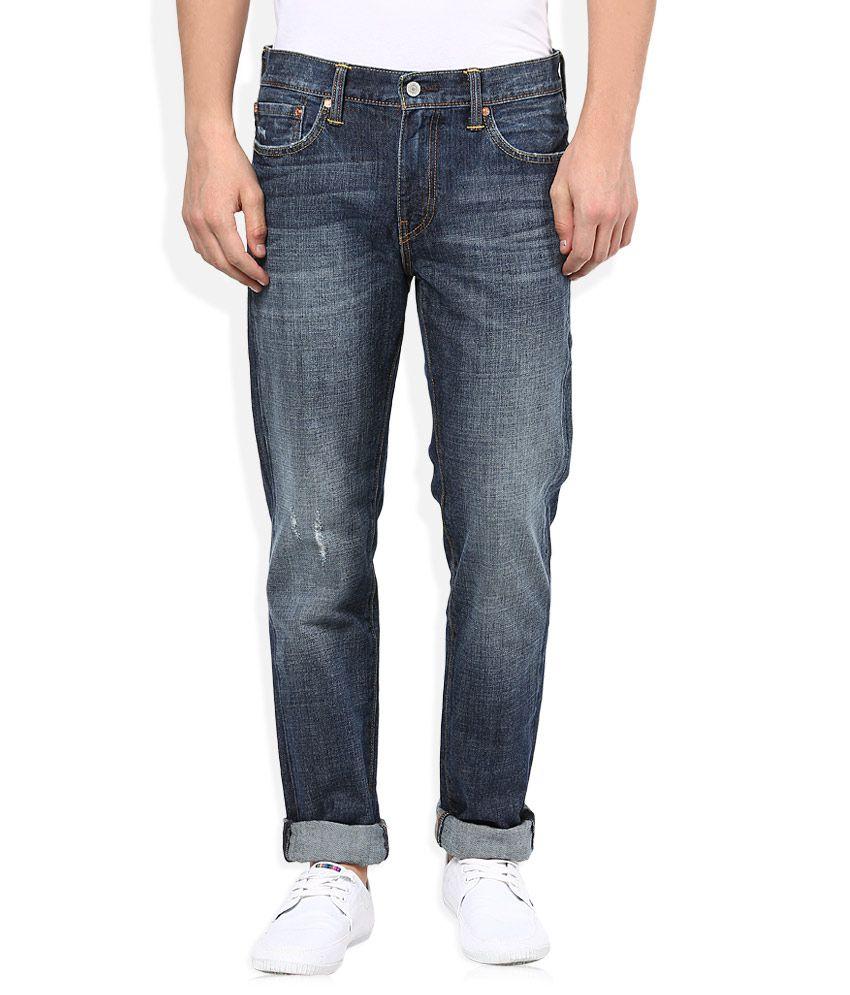 Levi's Blue Light Wash Regular Fit Jeans 511