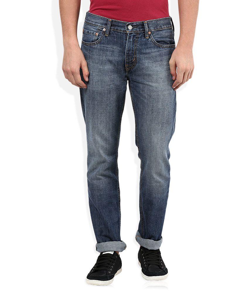 Levis Blue Slim Fit Jeans 511
