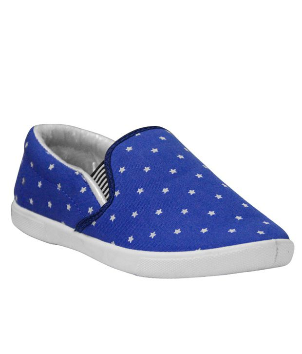 Per Te Solo Blue Loafers