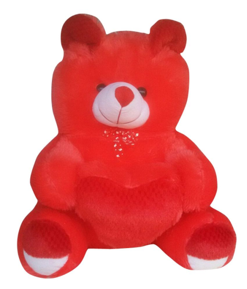 Hamza Toys Multicolour Stuffed Teddy  available at snapdeal for Rs.675