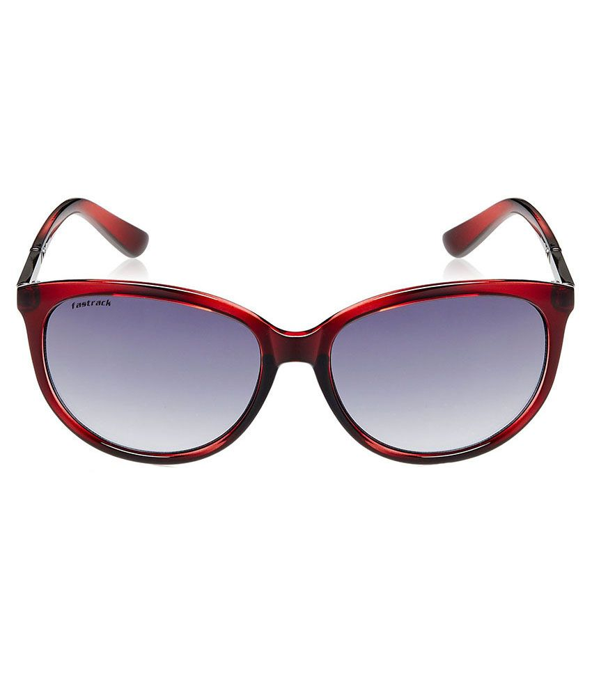 3186fd38e13 Fastrack P287BK3F Women Cat Eye Sunglass Fastrack P287BK3F Women Cat Eye  Sunglass ...