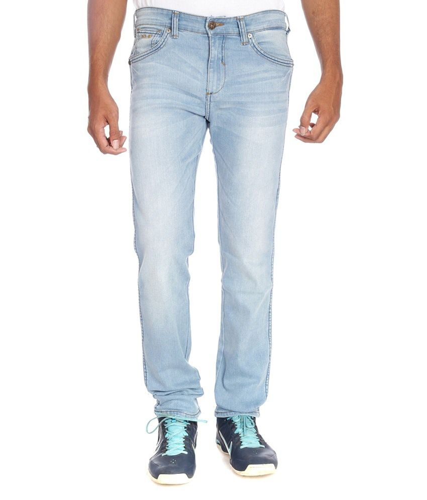 Noizee Blue Slim Fit Jeans - Pack Of 2