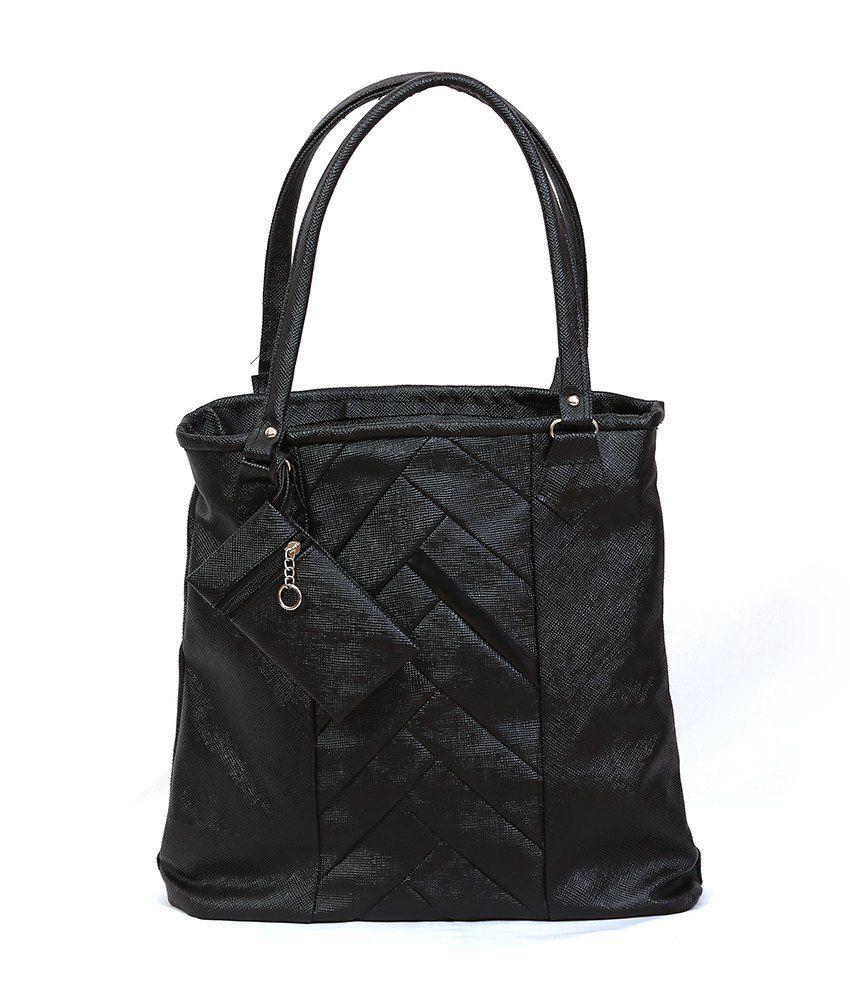 JPT Black Tote Bags