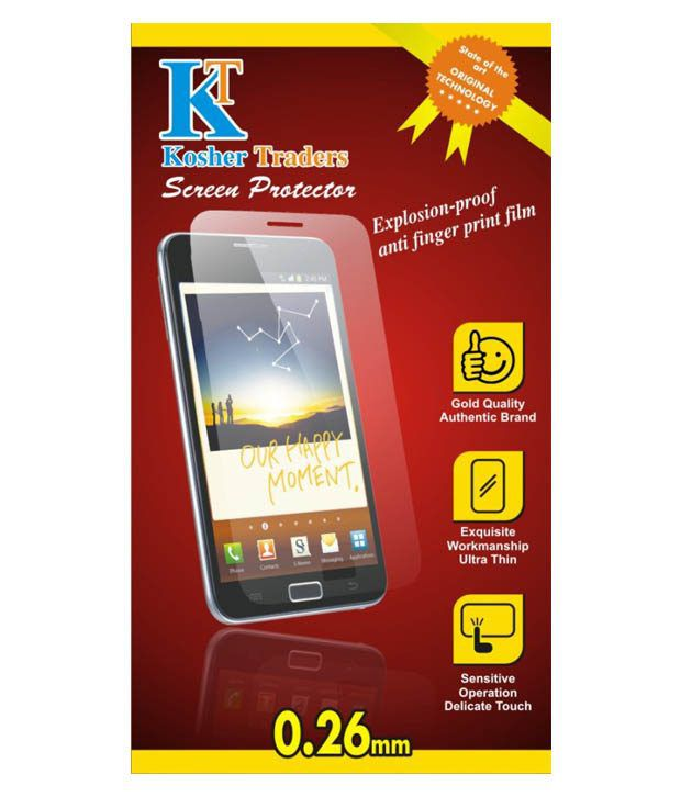 Micromax Unite 3 Screen Guard by Kosher Traders
