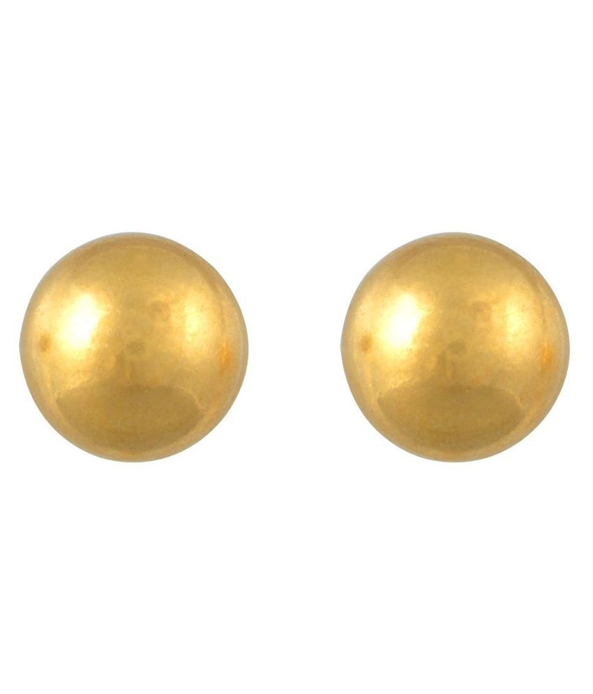 Vinayak 18kt Gold Studs Earrings