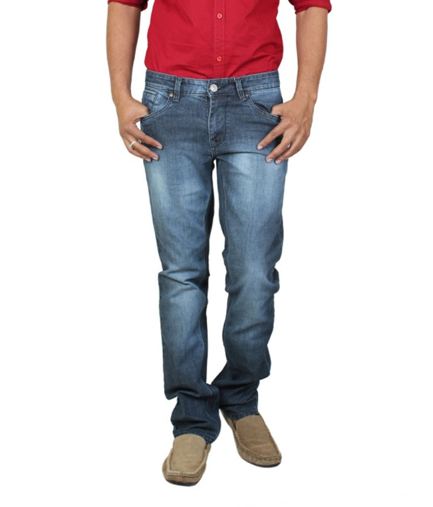 Lacrosse Jeans Blue Regular Fit Jeans